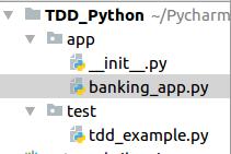 Environmental Setup for Test Driven Development in Python
