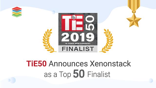 TiE50 Announces XenonStack as a Top 50 Finalist