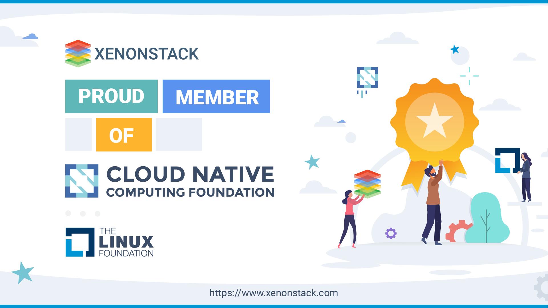 XenonStack CNCF and Linux Membership Image