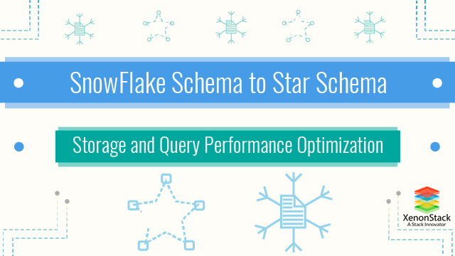 SnowFlake Schema to Star Schema - Storage and Performance Optimization