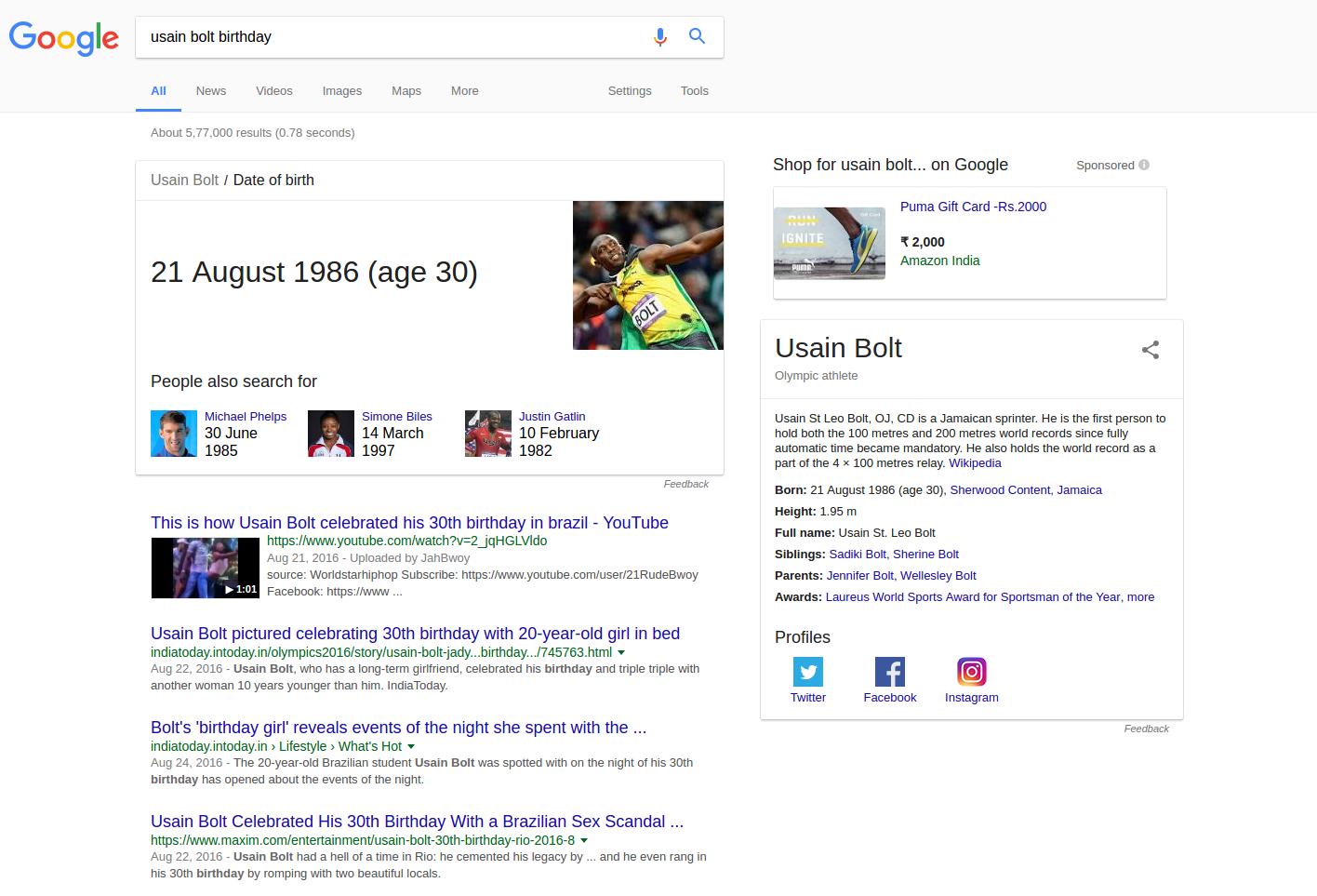Semantic based Search