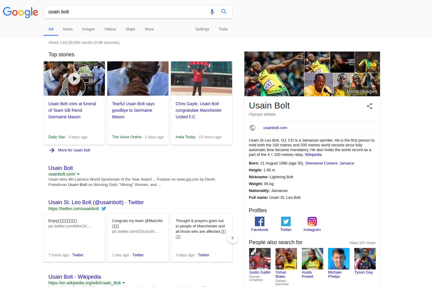 Keyword Based Search