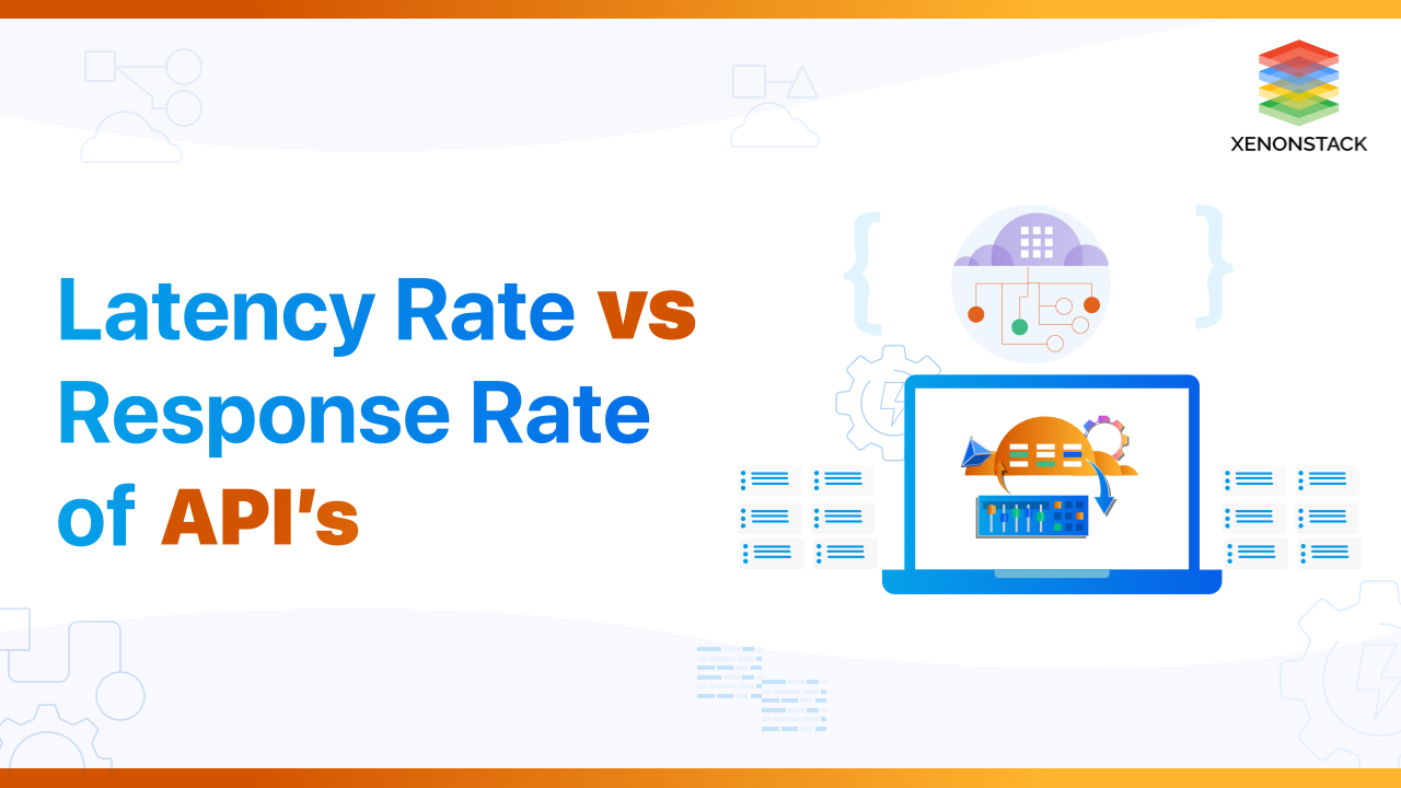 Comparison between API's Latency Rate vs Response Rate