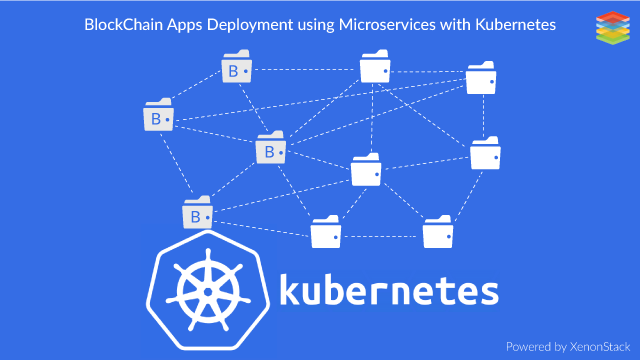 BlockChain App Deployment with Microservices on Kubernetes