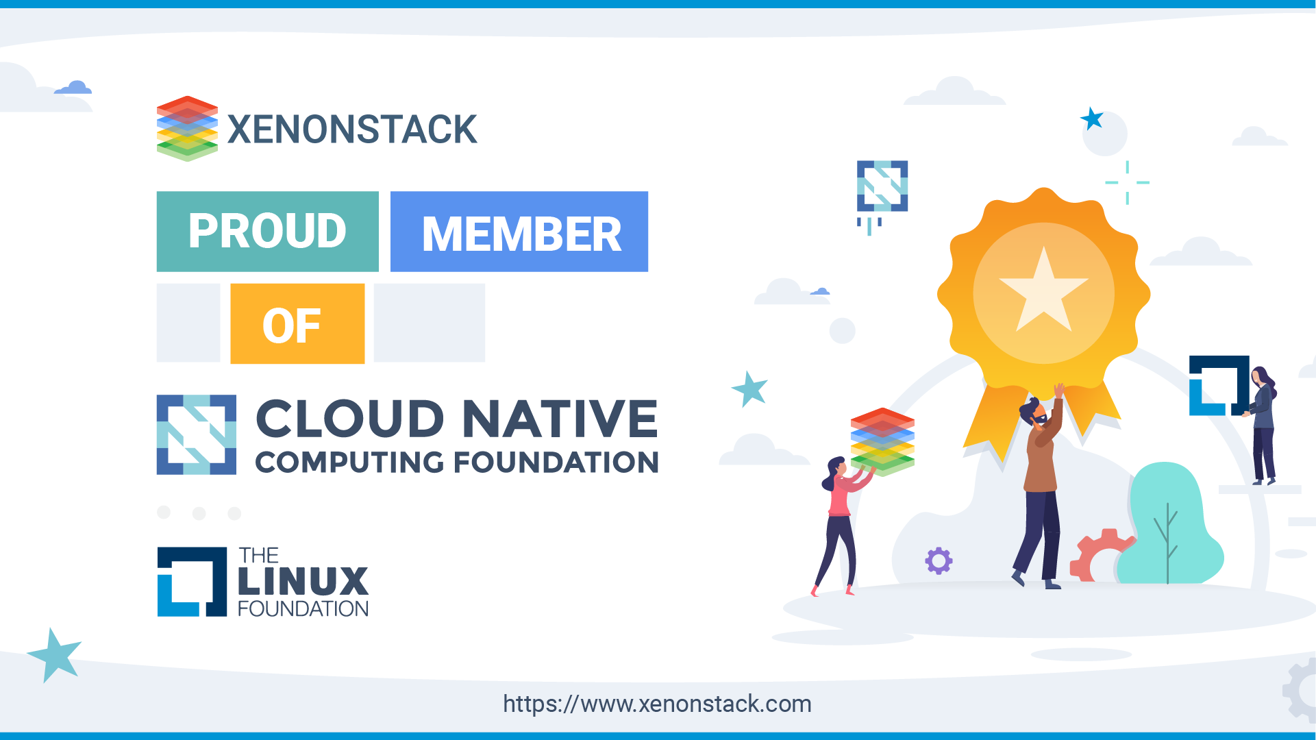XenonStack Joins Cloud Native Computing Foundation and The Linux Foundation