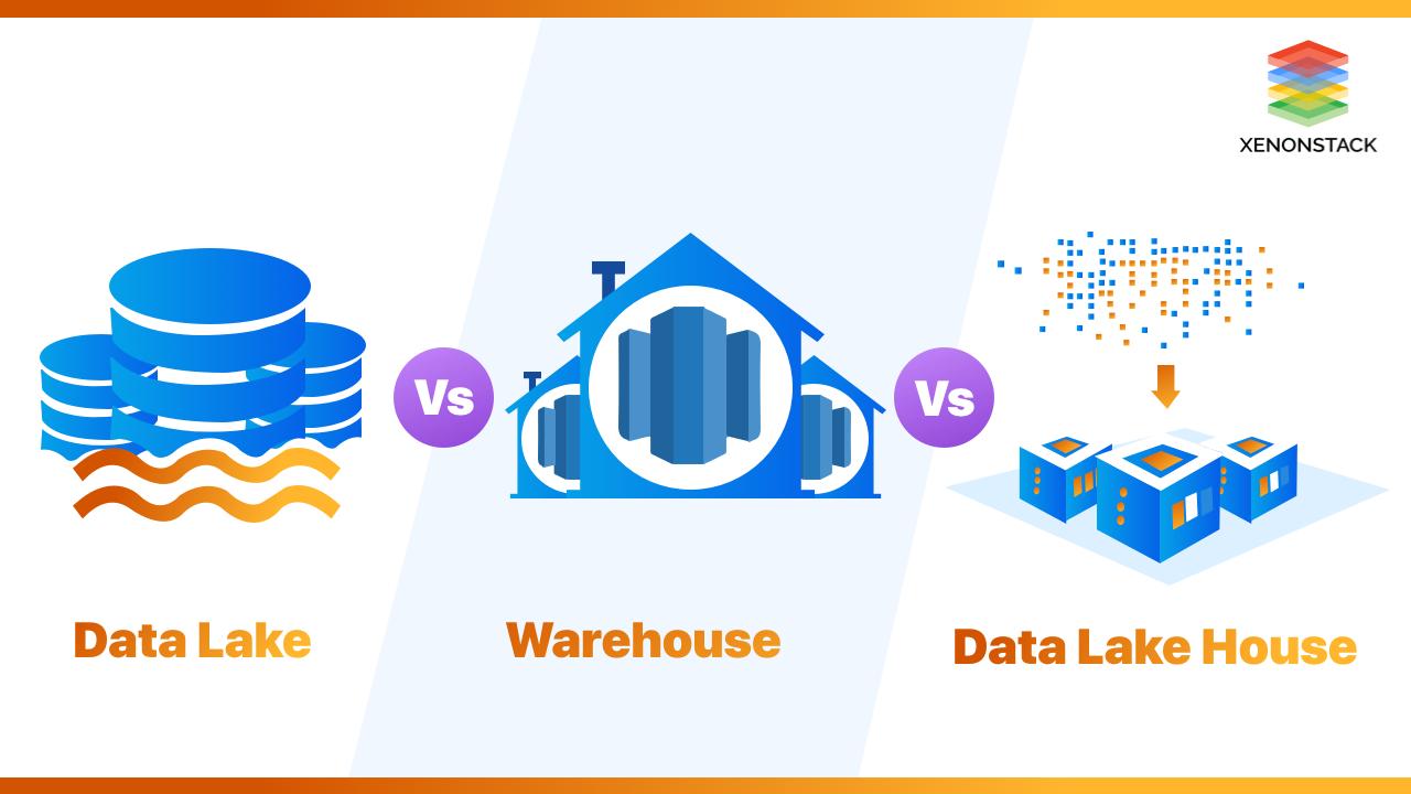 Data Lake vs Warehouse vs Data Lake House | XenonStack