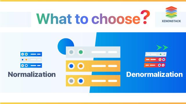 Denormalization vs Normalization