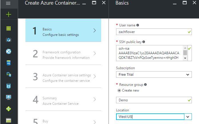 Deploying Application on Docker For Microsoft Azure