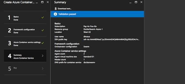 Deploying Application on Docker For Azure