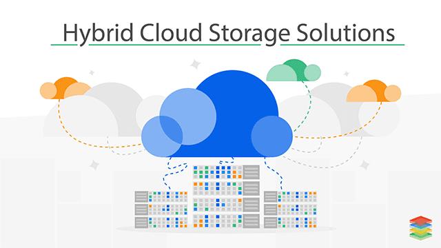 XenonStack Enterprise Hybrid Cloud Storage Solutions Image