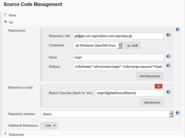Jenkins CI-CD Step 3 - Configure your Gitlab repo