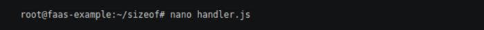 Openfaas function-code-Step-one