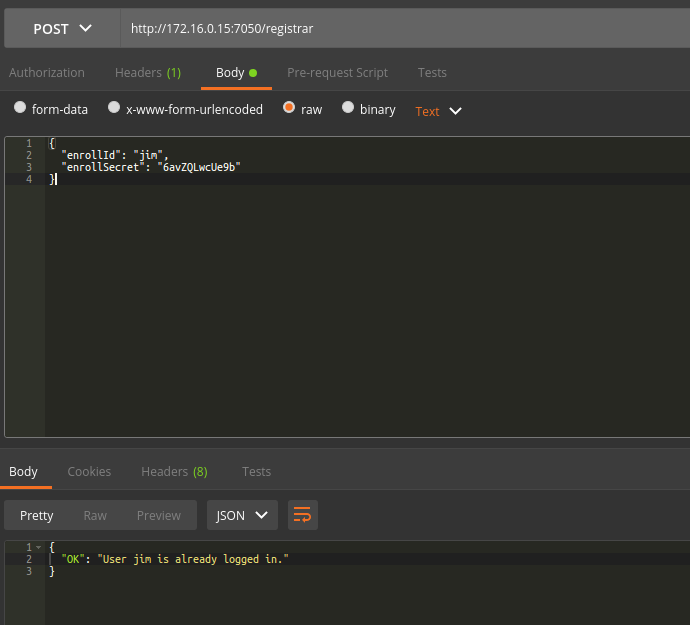 Running Rest API